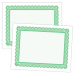 Large Certificate - 11 x 8.5, 50 Certificates, Border Color = Green PMS 354